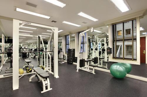 The fitness center and/or fitness facilities at Iroquois New York Times Square