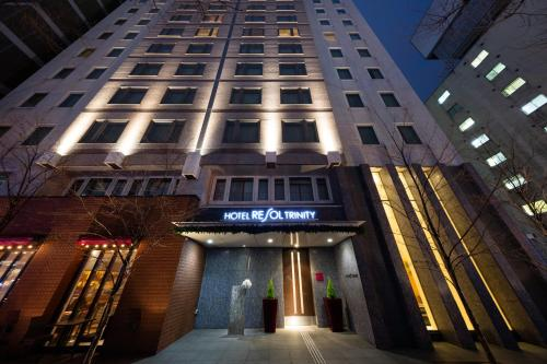 The facade or entrance of Hotel Resol Trinity Sapporo