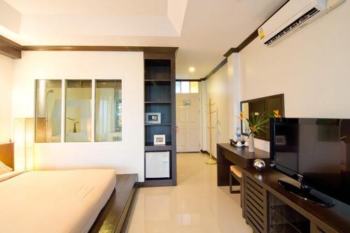 Küche/Küchenzeile in der Unterkunft Makathanee Resort