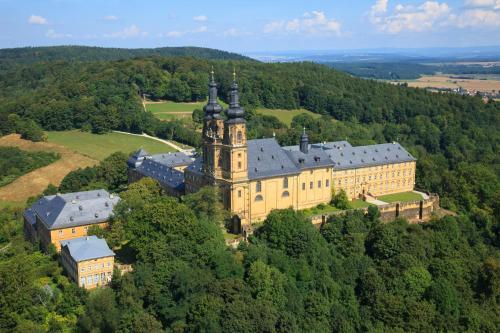 Landgasthof Zur Scheune с высоты птичьего полета