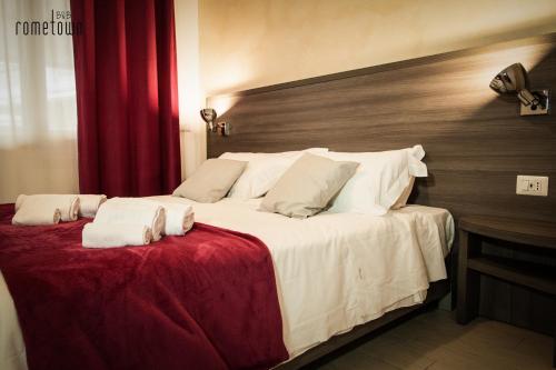 Una habitación en RomeTown B&B