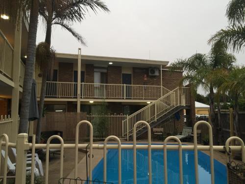 The swimming pool at or near Abel Tasman Waterfront Motel