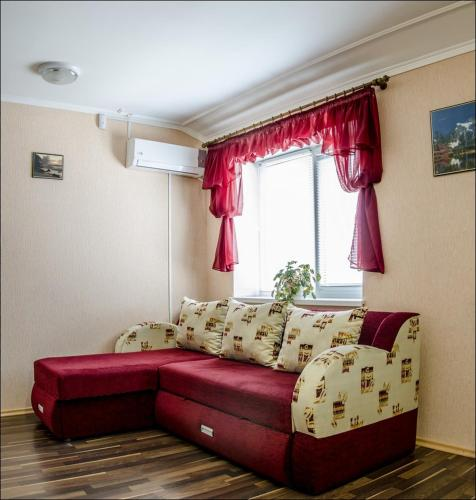 A seating area at Hotel Cherkassy