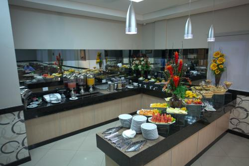A restaurant or other place to eat at Skala Traveling Hotel