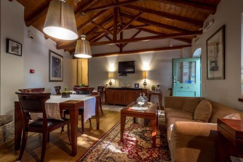 Εστιατόριο ή άλλο μέρος για φαγητό στο Ξενώνας Έναστρον