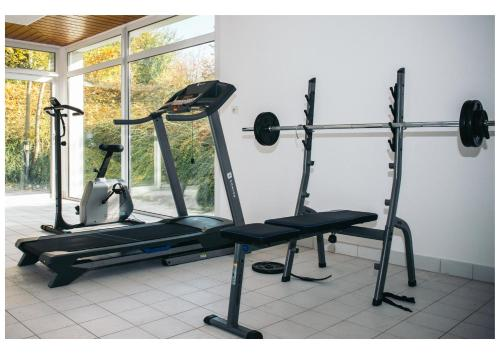 The fitness center and/or fitness facilities at Résidence Le Royal by Actisource