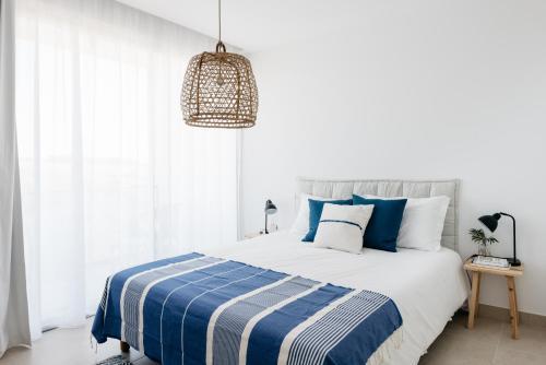 Uma cama ou camas num quarto em O Lugar