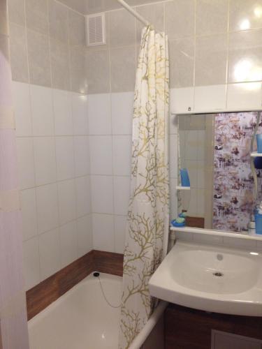 Ванная комната в Apartment on Polevaya 7