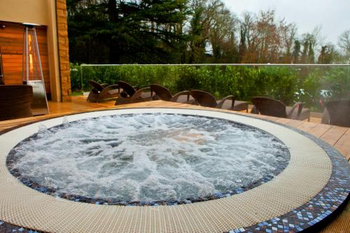 The swimming pool at or near DoubleTree by Hilton Bristol South - Cadbury House