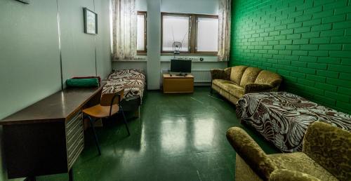 Гостиная зона в Minimotel