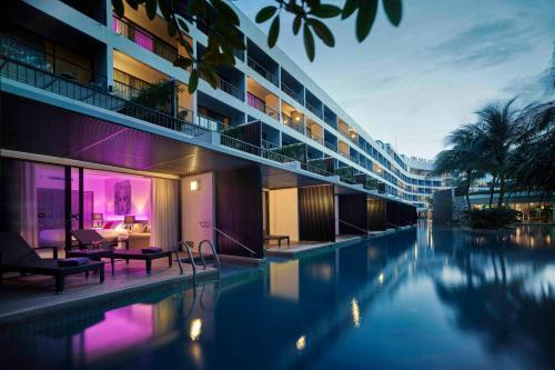 The swimming pool at or near Hard Rock Hotel Penang