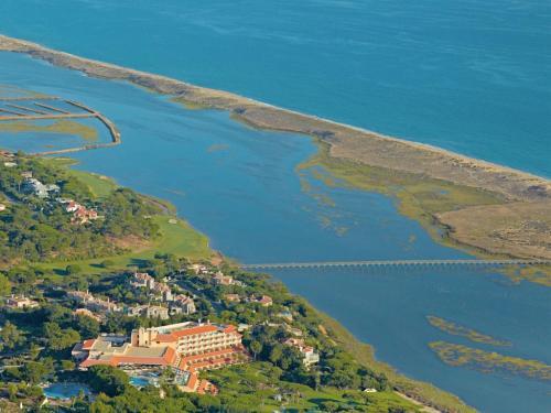 A bird's-eye view of Hotel Quinta do Lago