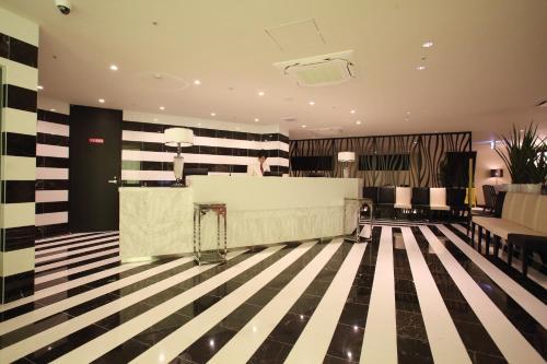 The lobby or reception area at Centurion Hotel Grand Kobe Station