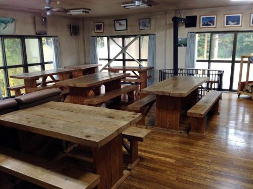 A restaurant or other place to eat at Lodge Yodel