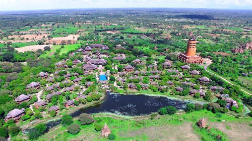 A bird's-eye view of Aureum Palace Hotel & Resort Bagan