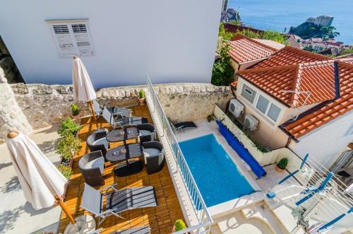 Vista de la piscina de Apartments Villa Ankora o alrededores