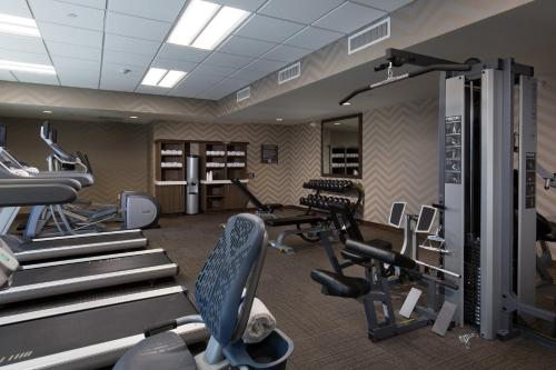 The fitness center and/or fitness facilities at Residence Inn by Marriott Las Vegas Airport