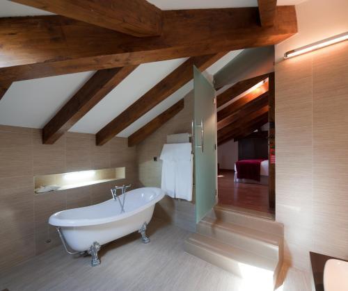 A bathroom at Concejo Hospederia