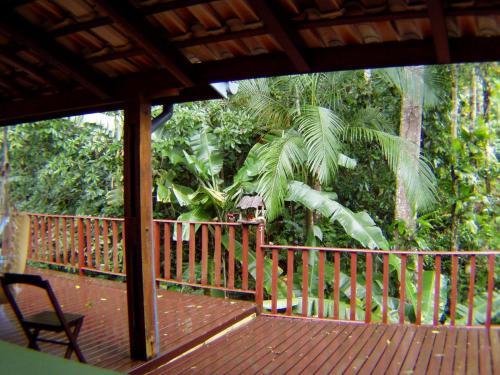 Uma varanda ou terraço em Casa Praia Brava da Fortaleza