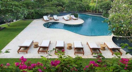 A view of the pool at AYANA Residences Luxury Apartment or nearby