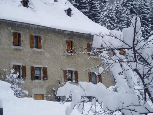 Le Château during the winter