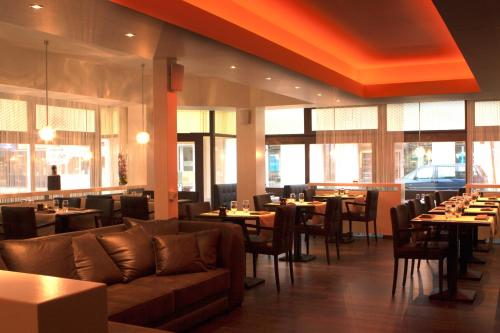 A restaurant or other place to eat at Hotel Kristoffel