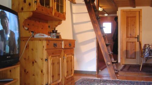 Kuchyňa alebo kuchynka v ubytovaní Chalet Goldblick