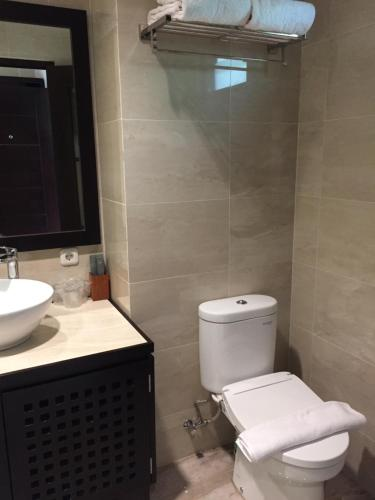 Een badkamer bij Jiwa Jawa Resort Ijen