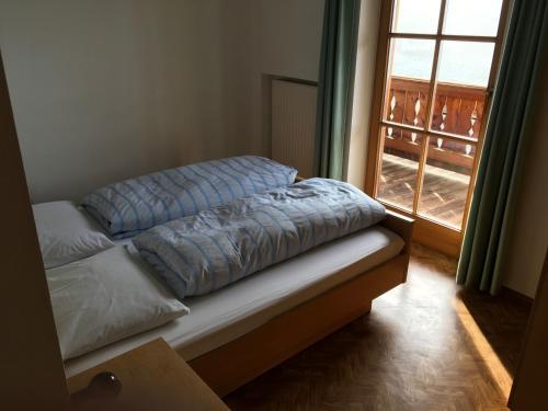 Cama o camas de una habitación en Fallerhof