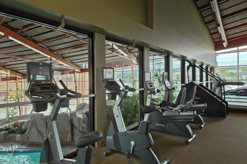 The fitness center and/or fitness facilities at River Rock Casino Hotel