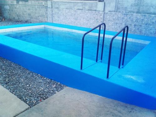 The swimming pool at or near Hostal Benjamin