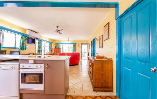 A kitchen or kitchenette at Clifton Beach House