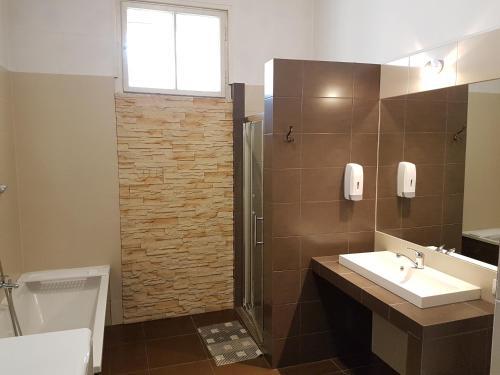 Kúpeľňa v ubytovaní Dream Hostel & Apartments
