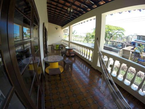 Uma varanda ou terraço em Le Monde Hostel - Suites e Camas