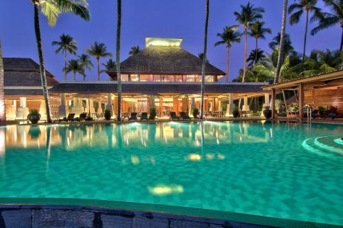 The swimming pool at or near Hilton Ngapali Resort and Spa