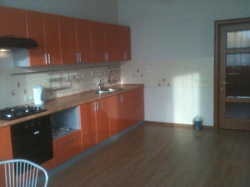 Кухня или мини-кухня в Mini Hotel Ozero