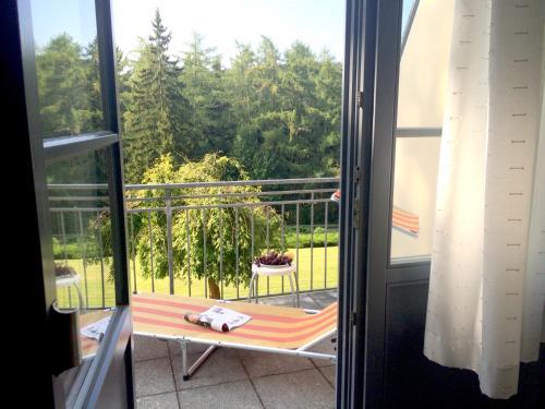Ein Balkon oder eine Terrasse in der Unterkunft Sonnenhof