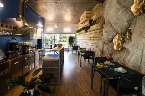 Ristorante o altro punto ristoro di Residence Bleu
