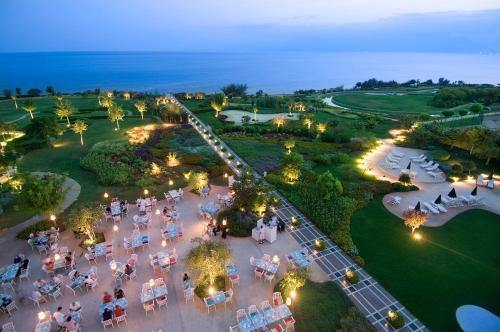 A bird's-eye view of The Marmara Antalya