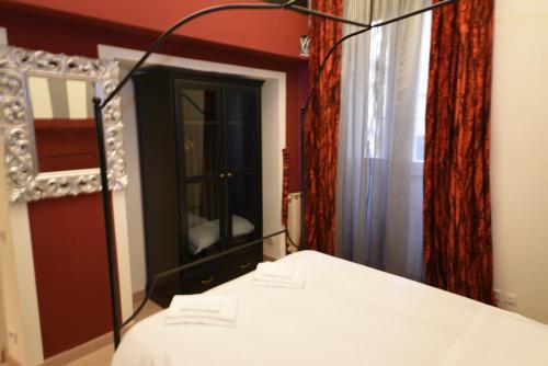 Cama o camas de una habitación en Heart of Florence