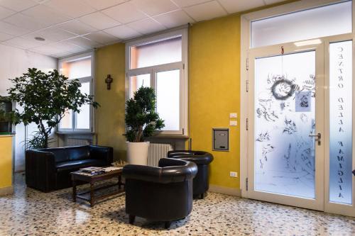 The lobby or reception area at Centro della Famiglia
