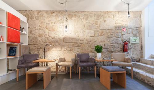 Zona de estar de InPatio Guest House