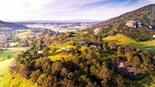 A bird's-eye view of The Cottage at The Bryn at Tilba