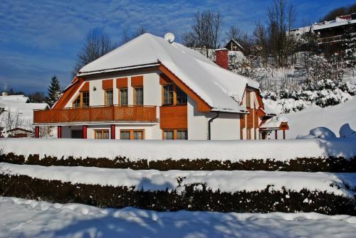 Pension B&B v zimě