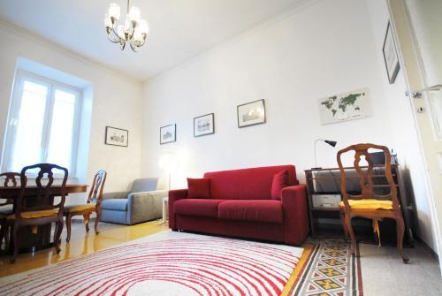 A seating area at Casa Anna a Roma
