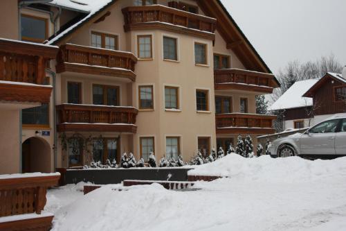 Obiekt Apartament DOMINO zimą