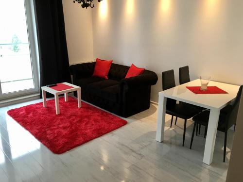 Część wypoczynkowa w obiekcie JAB Apartments Bandurskiego Business & Family