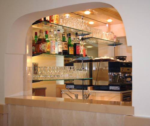 The lounge or bar area at Grazia Hotel
