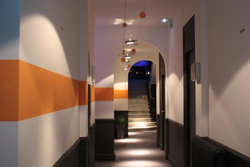 The lobby or reception area at B11hotel