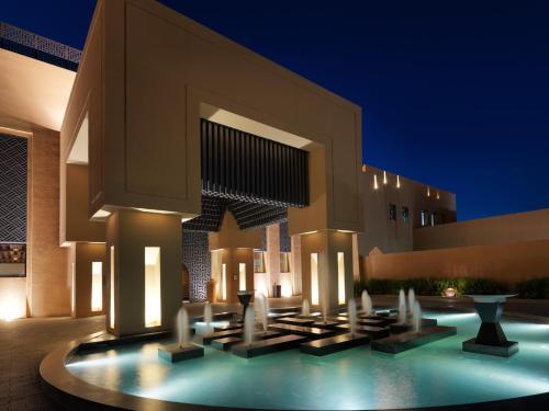 The swimming pool at or close to Anantara Al Jabal Al Akhdar Resort